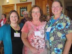 Hospitality Tricia Martin-Wallace, Treasurer Kathleen Garry, VP Deb Kumpf