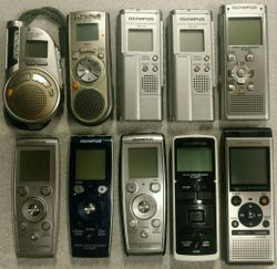 Olympus digital voice recorders