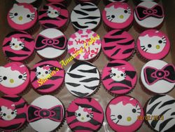 CC43 - Hello Kitty Cupcakes