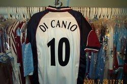 UEFA Cup away Paolo Di Canio shirt