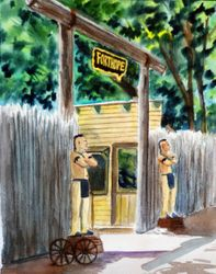 New Fort Hope Entrance
