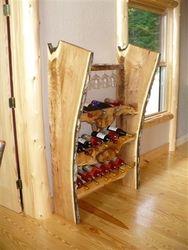 Butternut Maple Wine Rack
