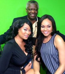 Nicole Kitty, Al Burroughs and Demetria McKinney on 'After Dark With Nicole KItty' show