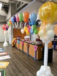 Balloon Lollipop Arch - Candy Land Theme