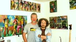 With Victor, Konigswinter, Germany, 2010