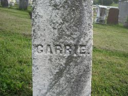 Carrie Isett (1874-1875)