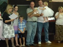 Ellee and Nicholas Naming Day