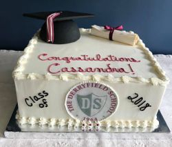 Graduation cake #1