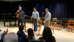 NMS Guitar Trio, December 2015.