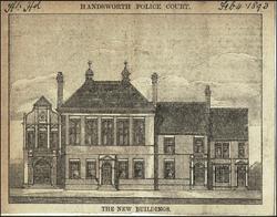 Police Court. c1893.