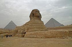 Giza : The Sphinx