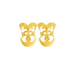 Topos medianos de figura - Precolumbian figure medium sized studd earrings