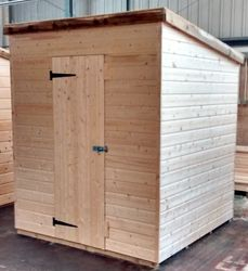 Pent Shed (6' x 6')