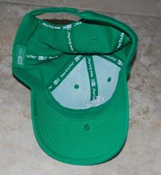 St. Louis Cardinals Albert Pujols Used Worn Hat - St. Patricks Day- 3/17/2005