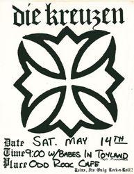 1988-05-14 Odd Rock Cafe, Milwaukee, Wi