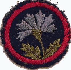 Cornflower Patrol Badge
