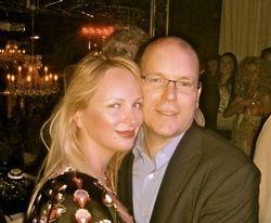 Delia Antal & Prince Albert of Monaco