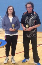 Handicap Tournament Vets Mixed Doubles
