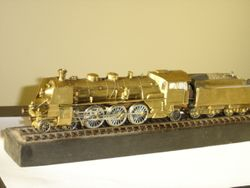 Bavarian S3/6 Express pacific locomotive