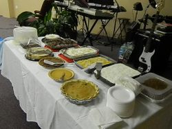 Thanksgiving Meal 2012