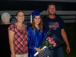 DAUGHTER JAZARE ~ GRADUATION WITH HER SISTER GENTRY AND BROTHER JORDAN