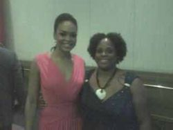 "Demetria McKinney & Chasity Finger (DEMETRIAN) At The ""Rainbow PUSH Conference"""