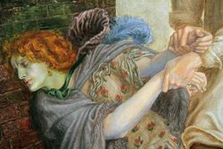 Rossetti, Found, detail, Wilmington