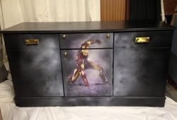 Ironman themed sideboard
