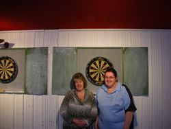 Ladies Doubles R/Up Debra Gill & Josephine O'Neil