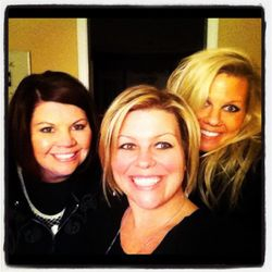 hanging out with my girls!