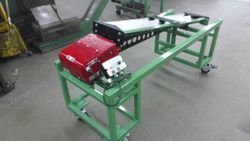 Custom fabricated sorting machine.