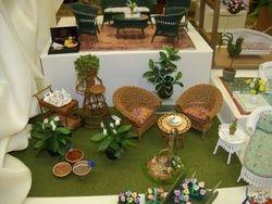 Cozy garden setting