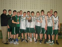 PCCS Boys' Varsity Basketball Team