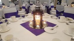 Purple Lantern Wedding 3