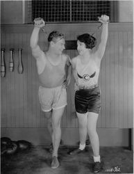 Working out with Bebe Daniels