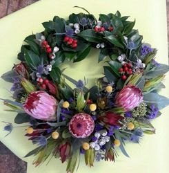 Native Flower Wreath