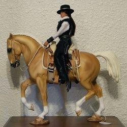 Spanish rider by Randi