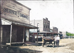 Downtown Pattison early 1900's