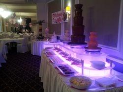 Massive Triple Chocolate Fountain Hire Danum Hotel Doncaster