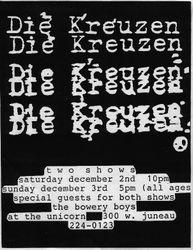1989-12-02 The Unicorn, Milwaukee, WI