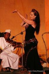 Tamalyn with Matona in the Orientalia festival
