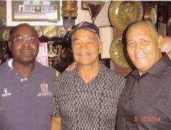 Dave Bond, Lenny Hurst and Johnny Kincaid
