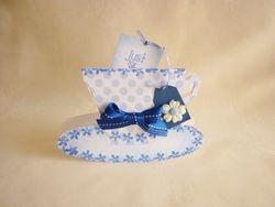Blue Spotty Cup