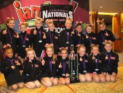 Mini Cheer takes first