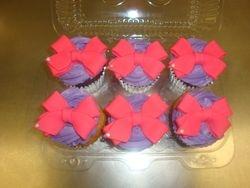 Jojo bow cupcakes $4.50 each