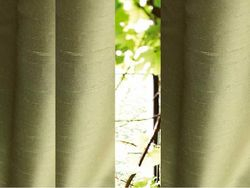 Luxury Custom Dupioni Silk and lined  Curtains, Drapes -96 inch