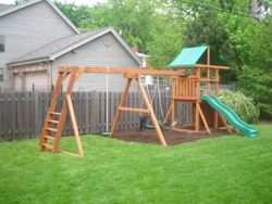 ADDED TAILOR-MADE MONKEY BARS