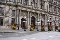 City Hall in Glasgow