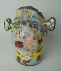 Mary Jones Ceramics.  Bonkers days.
