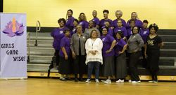 Seasons Staff and 100 Black Women Rep